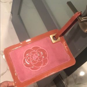 Camelia Chanel Wristlet in Pink
